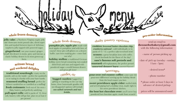 holiday-menu
